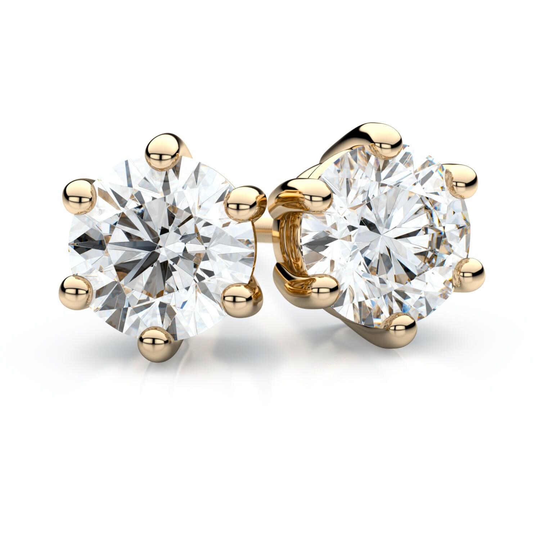 IGI-Certified-14k-Yellow-Gold-6-prong-Round-Diamond-Stud-Earrings-1ctw-H-I-VS-7b6613a1-bb1c-4ae9-b501-d6504dea2235