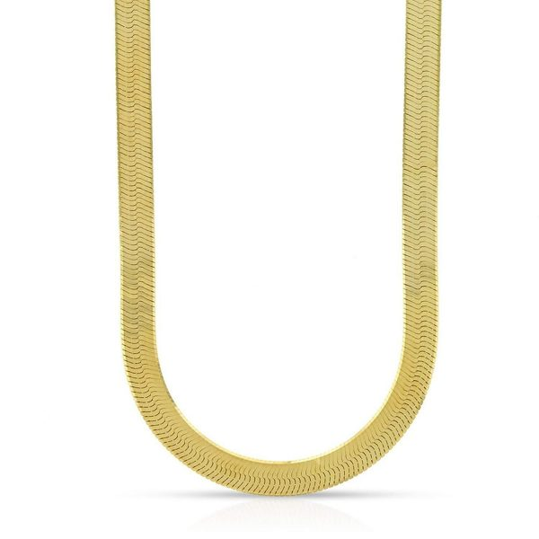 14K Gold Imperial Herringbone Chain