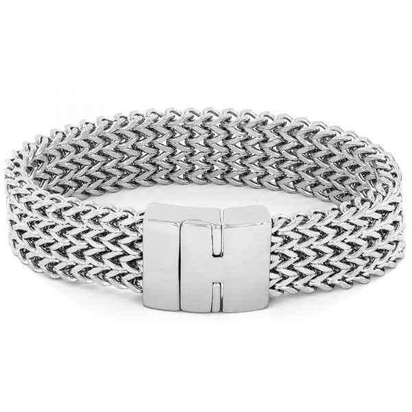 Crucible-High-Polish-Stainless-Steel-Multi-layer-Franco-Link-Bracelet-5c673924-1b34-4a0e-8686-cfafcf5197a0