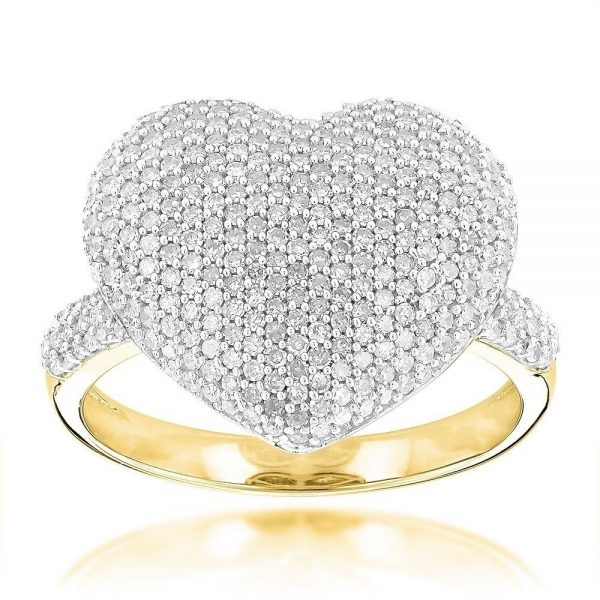 Luxurman-14k-Gold-1-1-6ct-TDW-Pave-Diamond-Heart-Ring-73b6cdad-dec6-4769-b69b-4c4ad3817422