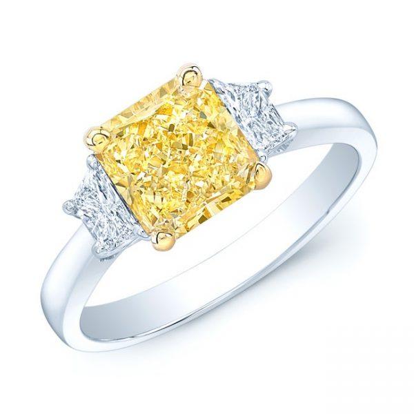 PLATINUM-18K-YELLOW-GOLD-2.04CT-GIA-CERTIFIED-FANCY-LIGHT-YELLOW-DIAMOND-RING-b53d9d95-78bf-4027-abf0-fc0def982980