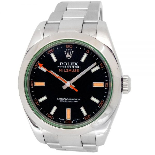 Pre-owned-40mm-Rolex-Milgauss