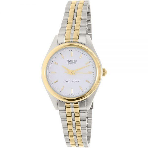 Casio-Women's-Core-LTP1129G-7A-Silver-Stainless-Steel-Quartz-Fashion-Watch